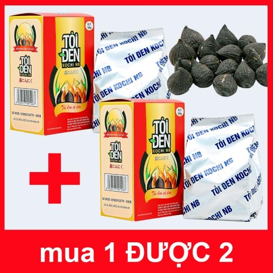 (Mua 1 tặng 1) tỏi đen Kochi cô đơn bóc vỏ 1kg tặng tỏi đen kochi cô đơn bóc vỏ 1kg (dùng để ngâm rượu)