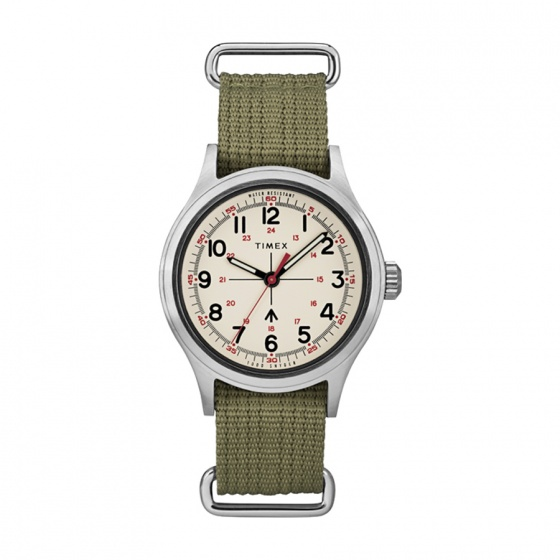 Đồng hồ nam Timex Timex x Todd Snyder Military Inspired 40mm - TW2R78800