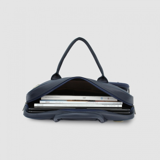 Cặp laptop nam ngăn kéo trước lịch lãm Idigo MB2-604-00