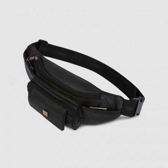 Túi đeo chéo trước ngực unisex Idigo MB2-201-00