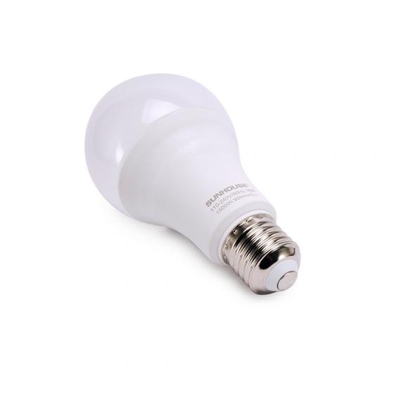 Bộ đèn led thân nhôm Sunhouse SHE-LEDA70AL-A15W đui xoáy, trắng