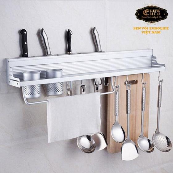 Kệ bếp đa năng Eurolife EL-K2 (trắng bạc)