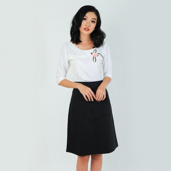 Set công sở thời trang Eden màu trắng - SET13