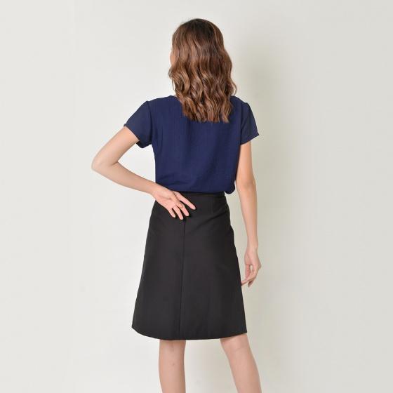 Set công sở thời trang Eden màu xanh đen - SET16