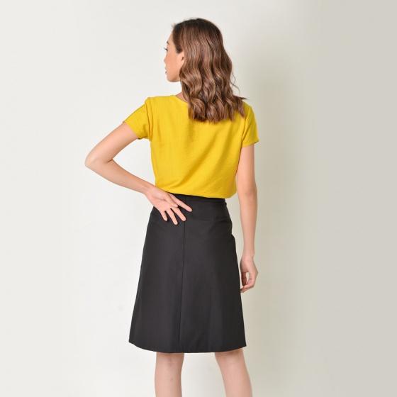 Set công sở thời trang Eden màu vàng - SET16