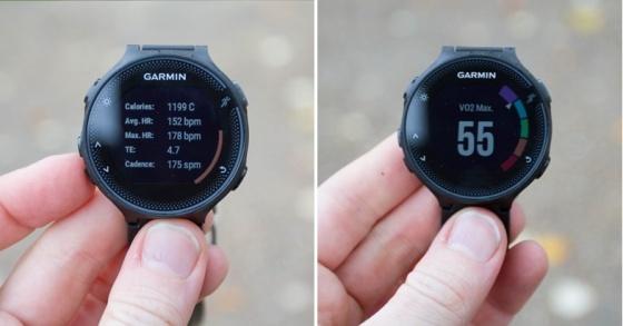 Đồng hồ thông minh Garmin Forerunner 235 Gray/Black