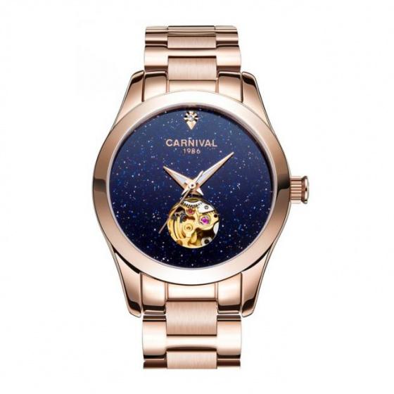 Đồng hồ nữ dây thép Carnival L01002.102.414