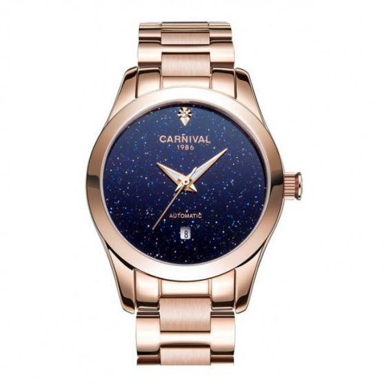 Đồng hồ nữ dây thép Carnival L01001.102.414