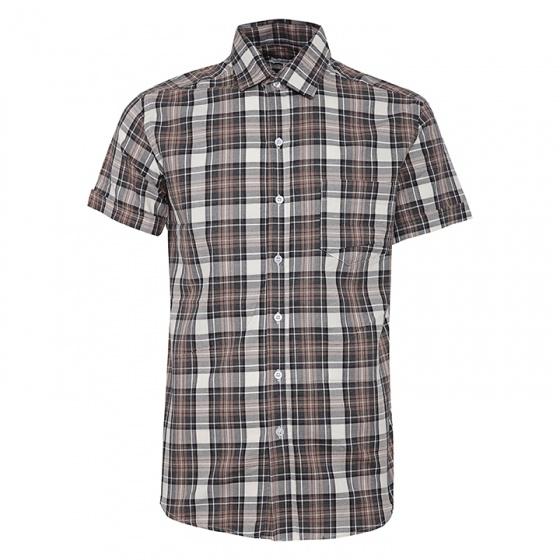 Bộ 2 áo sơ mi ngắn tay sọc caro thời trang SMC2711