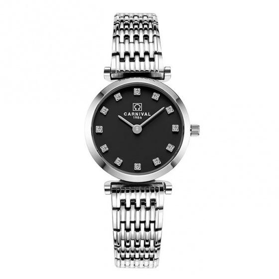 Đồng hồ nữ dây thép Carnival L36501.202.011
