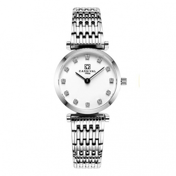 Đồng hồ nữ dây thép Carnival L36501.201.011