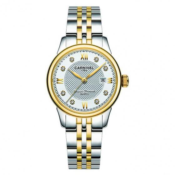 Đồng hồ nữ dây thép Carnival L50202.201.616