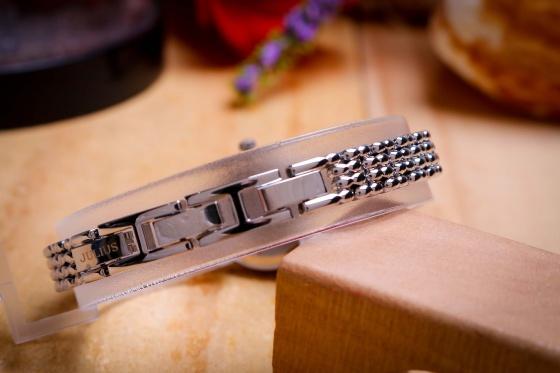 Đồng hồ nữ JA-1139A Julius Hàn Quốc dây thép (bạc)