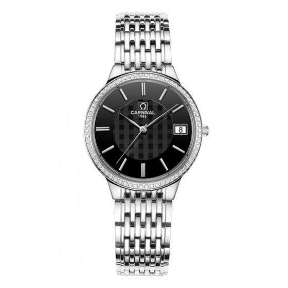 Đồng hồ nữ dây thép Carnival L57602.202.011