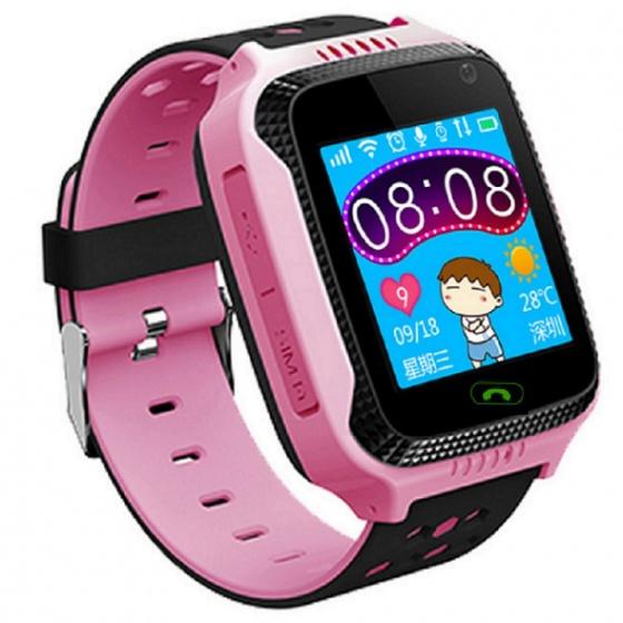 Đồng hồ định vị trẻ em JVJ V5G hồng (BB)