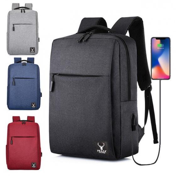Balo laptop tích hợp usb cao cấp Praza - BL174