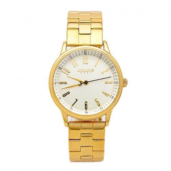 Đồng hồ nam Julius JA-859MC JU1048 dây thép (vàng)