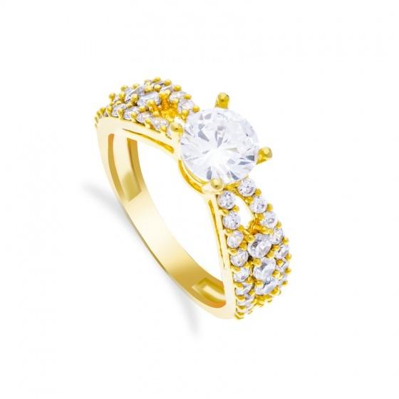 Nhẫn nữ đính đá sang trọng uha nn88