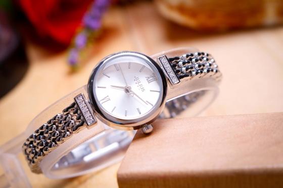 Đồng hồ nữ JA-1139 Julius Hàn Quốc dây thép (nhiều màu)