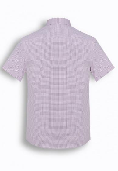 Áo sơ mi nam tay ngắn họa tiết The Shirts Studio Hàn Quốc TD13F2319RE