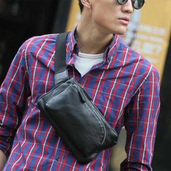 Túi đeo chéo da Praza DC042
