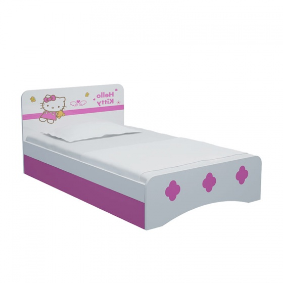 Giường đơn Hello Kitty 1m4