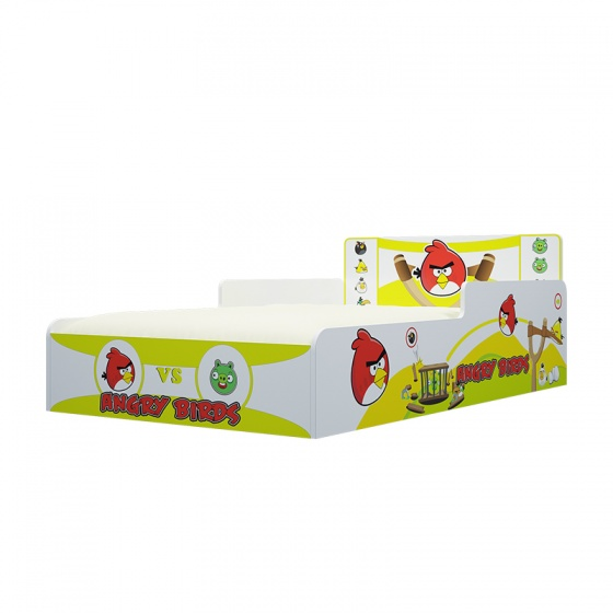 Giường Ibie trẻ em Angry Bird 1m2