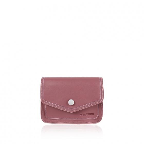 Túi thời trang Verchini màu hồng ruốc 13000581