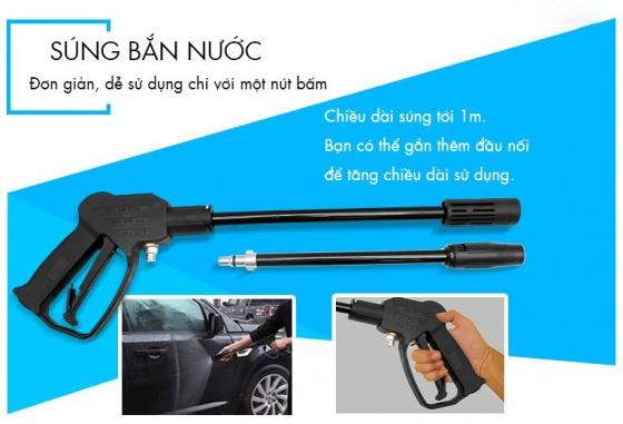 Bộ súng xịt bình xịt Kachi 70P - Phụ kiện