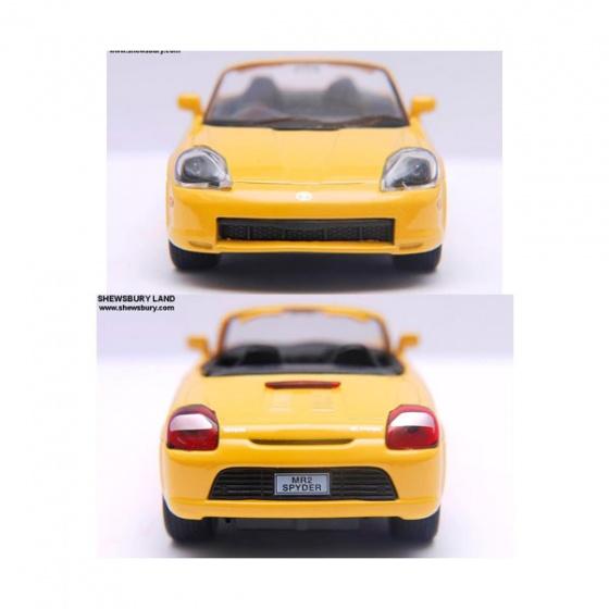 Xe mô hình Welly Toyota MR2 Spyder 42326CW
