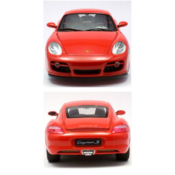 Xe mô hình Welly Porsche Cayman S 42374CW