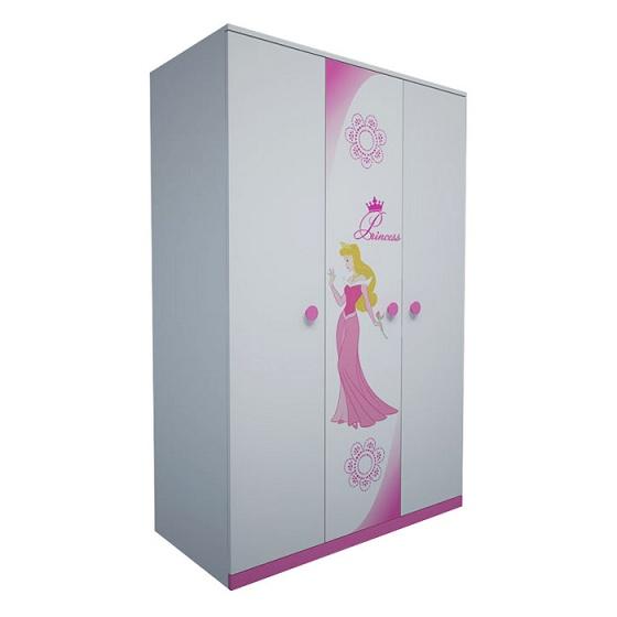 Tủ quần áo trẻ em hình công chúa 1m2 - Ibie
