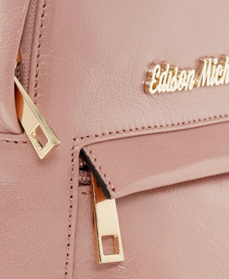 Balo da dê cao cấp hiệu Edison Michael 4001pink