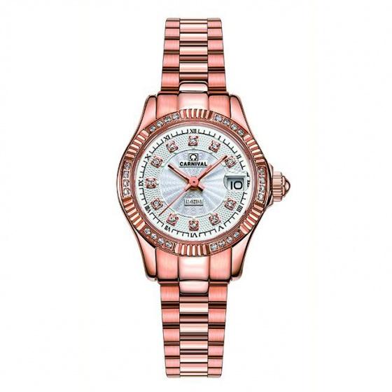 Đồng hồ nữ dây thép Carnival L69101.301.414