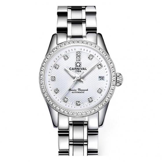 Đồng hồ nữ dây thép Carnival L73901.101.011