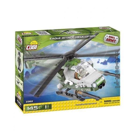 Đồ chơi lắp ráp trực thăng chiến đấu Cobi - 2362