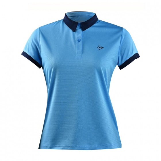 Áo tennis nữ Dunlop - dates9092-2c-cl (Xanh da trời)