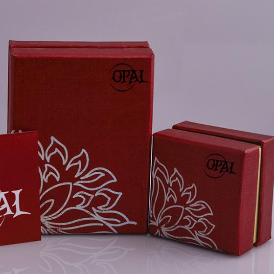 Hoa tai bạc 925 đính ngọc trai Opal - T05