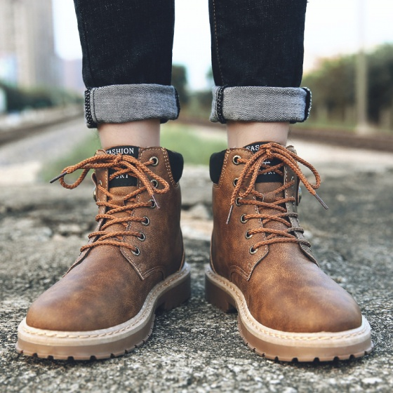 Giày boots nam Passo G156