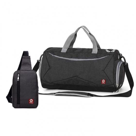 Bộ túi du lịch thời trang HR246 và túi đeo chéo HARAS HR147