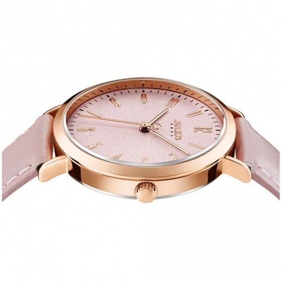 Đồng hồ nữ  ja-1017d Julius Hàn Quốc (hồng)
