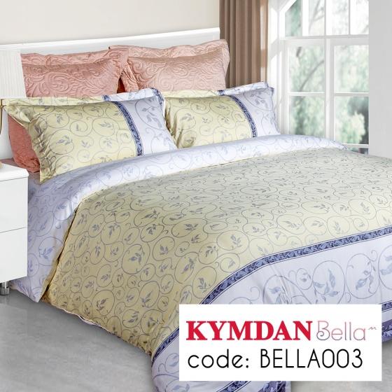Drap Kymdan Bella 160 x 200 cm (drap + áo gối nằm + vỏ mền) BELLA003