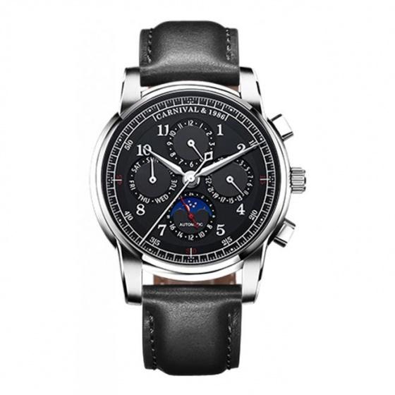 Đồng hồ nam dây da Carnival G78101.102.032