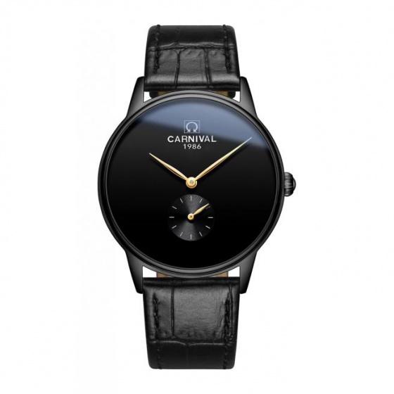 Đồng hồ nam dây da Carnival G70803.202.232