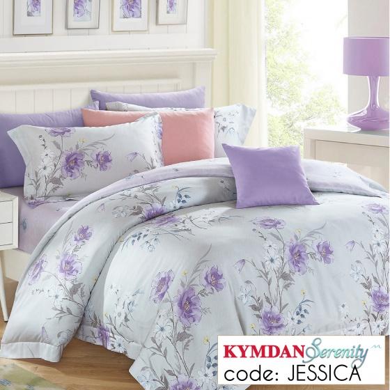 Drap Kymdan Serenity 160 x 200 cm (drap + áo gối nằm + vỏ mền) JESSICA