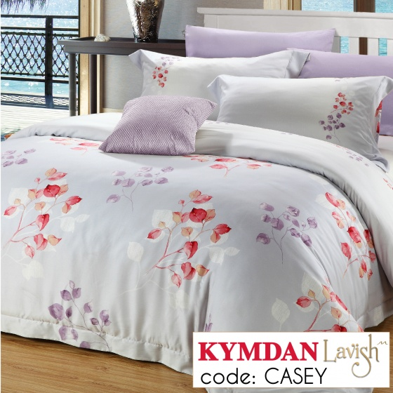 Drap Kymdan Lavish 160 x 200 cm (drap + áo gối nằm + vỏ mền) CASEY