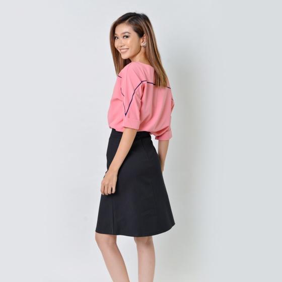 Set công sở thời trang Eden màu hồng - SET21