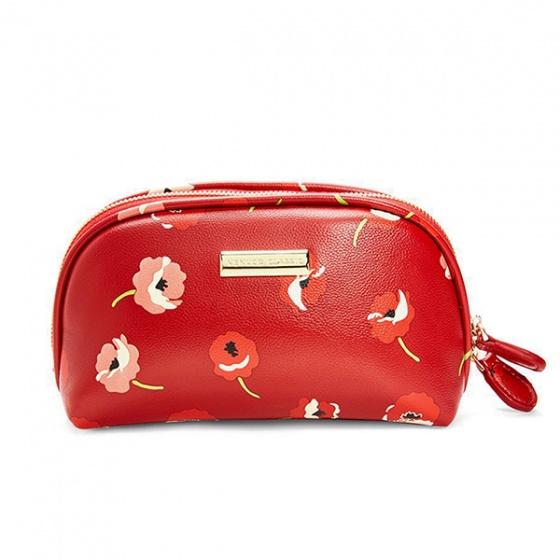 Ví trang điểm Venuco Madrid M46 màu đỏ