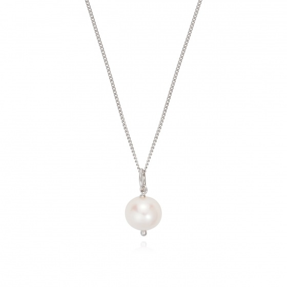 Opal_ dây chuyền bạc và mặt Ngọc Trai_T05