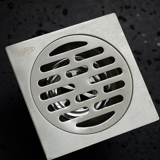 Phễu thoát sàn chống mùi inox Zento TS125